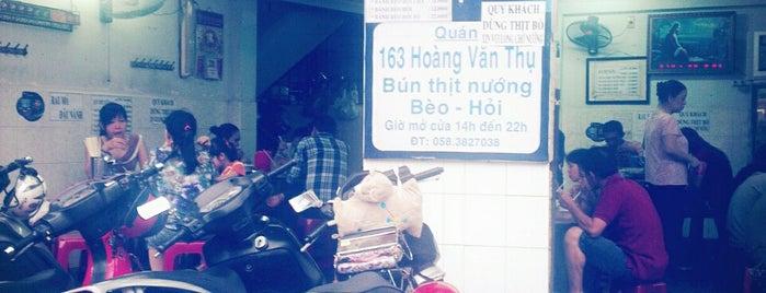 Bún/Bánh Bèo Thịt Nướng 163 Hoàng Văn Thụ is one of Must-visit Food in Nha Trang.