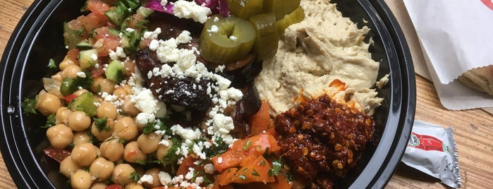 The Hummus & Pita Co. is one of Places to Use Campus Cash.