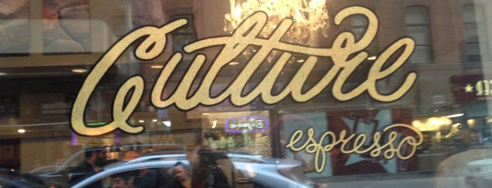 Culture Espresso is one of Best expressos in NYC.