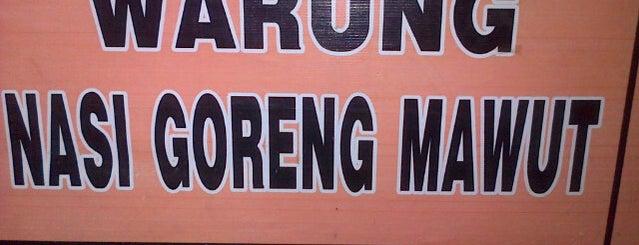 Nasi goreng mawut is one of 20 favorite restaurants.