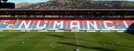 Nuevo Estadio Los Pajaritos is one of Campos de fútbol.