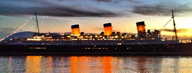 The Queen Mary is one of LA Otaku's Favorite Places.
