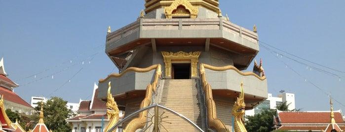 วัดโพธิสมภรณ์ พระอารามหลวง อุดรธานี is one of Holy Places in Thailand that I've checked in!!.