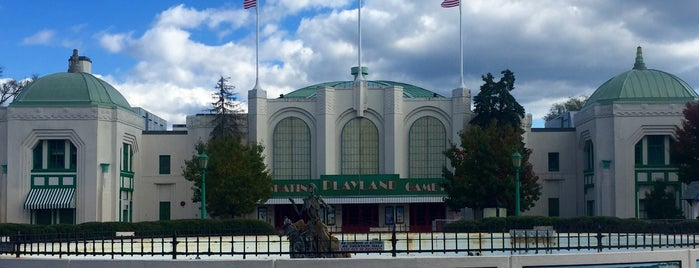 Playland Ice Casino is one of Top Ice Skating Rinks in NYC.