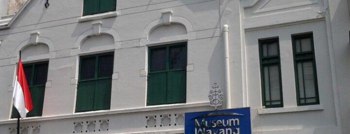 Museum Wayang is one of WISATA SEJARAH.