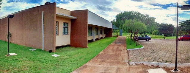 Centro de Aprendizagem Em Rede (Ciar) is one of UFG (Câmpus II).