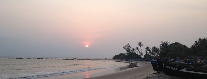 Morjim Beach is one of India places to visit.