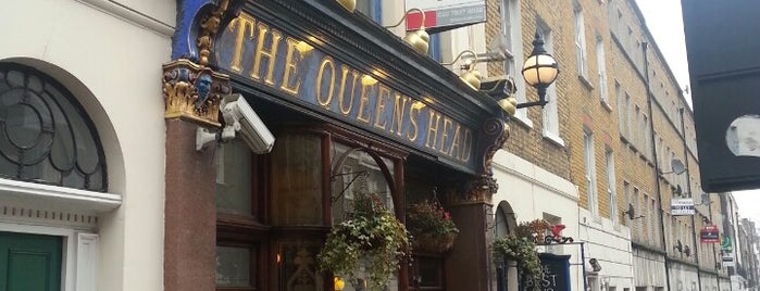 The Queen's Head is one of BMAG's Pubs.