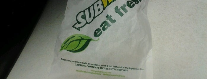 Subway is one of Must-visit Food in Atlanta.