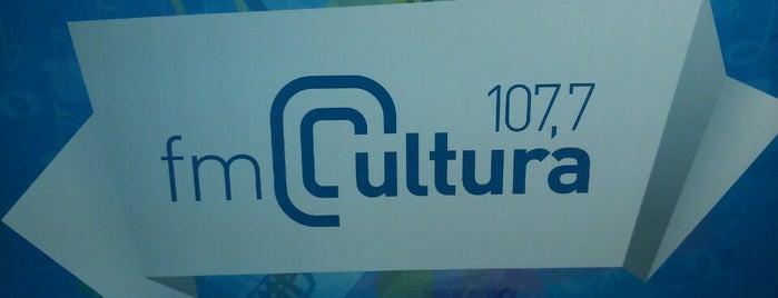 FM Cultura 107.7 is one of Ilustres e desconhecidos cantos de Porto Alegre.