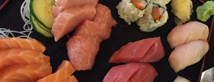 Sushi Capitol is one of Go-to spots.