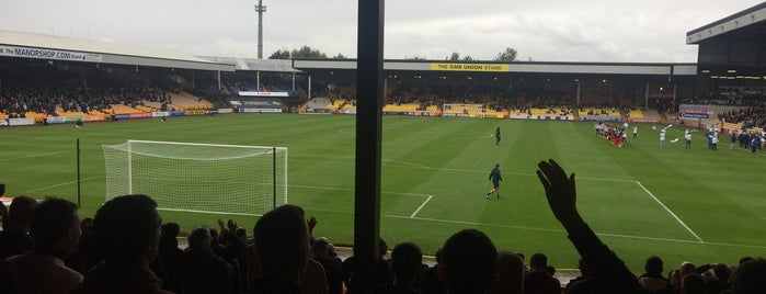 Vale Park is one of Stadiums.