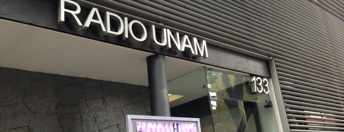 Radio UNAM is one of Medios del DF.