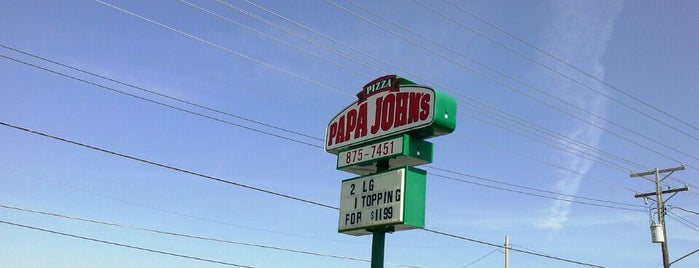 Papa John's Pizza is one of Special places 2012.