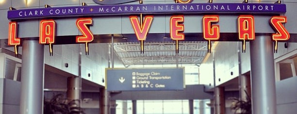 McCarran International Airport (LAS) is one of Swarm.
