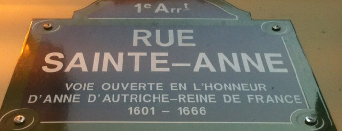 Rue Sainte Anne is one of Paris // For Foreign Friends.