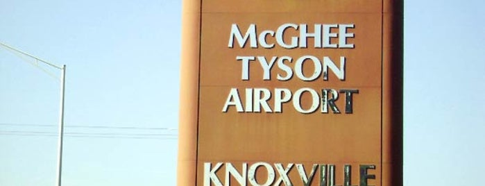 McGhee Tyson Airport (TYS) is one of Airports been to.