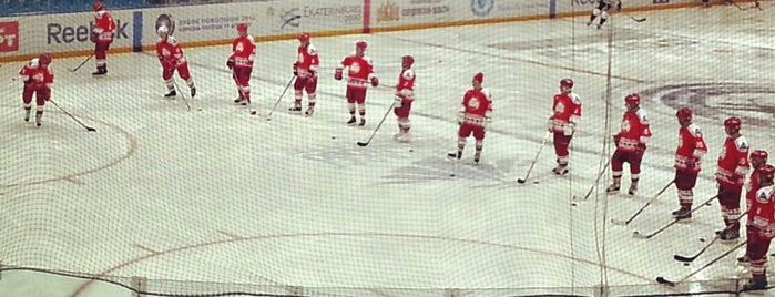 КРК «Уралец» is one of JYM Hockey Arenas TOP100.