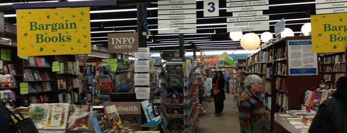 Brookline Booksmith is one of Guide to Boston's best spots.