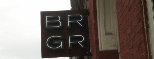 BRGR Bar is one of Best Restaurants in the Burg.