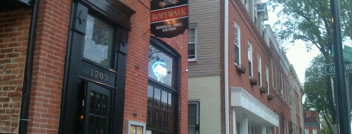 Ropewalk Tavern is one of B-More's finest! Best of Baltimore! #visitUS.