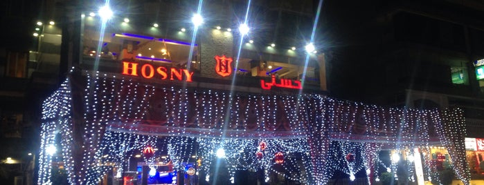 Hosny is one of Best Cafes & Restourants in Cairo.