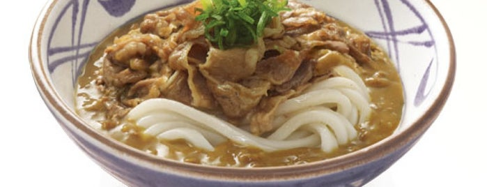Marugame Udon is one of Favorite Food.
