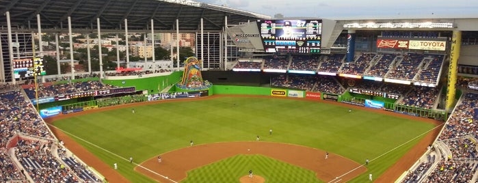 Marlins Park is one of Major League Ballparks.