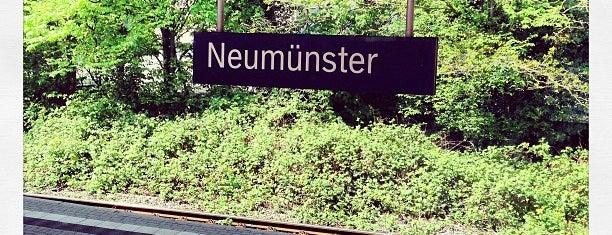 Bahnhof Neumünster is one of Ausgewählte Bahnhöfe.