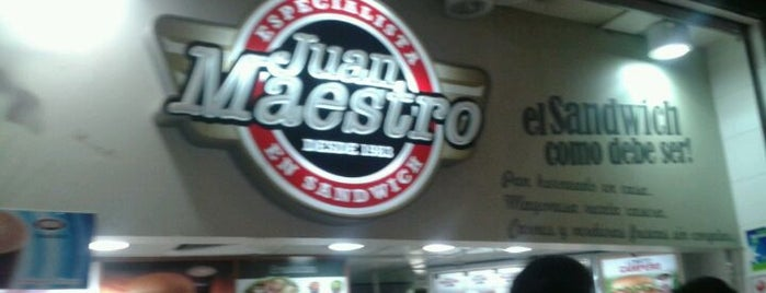 Juan Maestro is one of home talo.