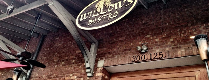 Willow's Bistro is one of Winston-Salem Restaurants.