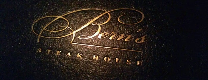 Bern's Steak House is one of Princess' Tampa Hot Spots!.
