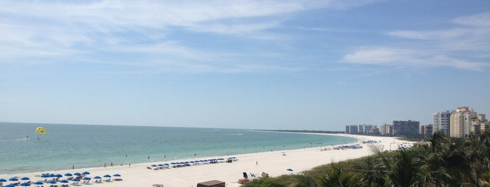 Hilton Marco Island Beach Resort and Spa is one of faves.