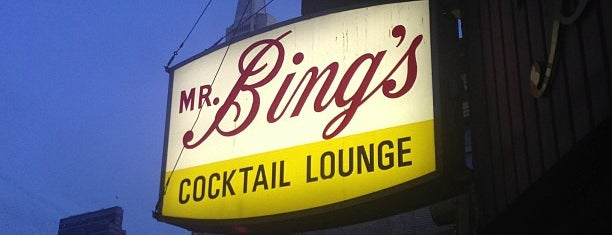 Mr. Bing's is one of SF Bars.