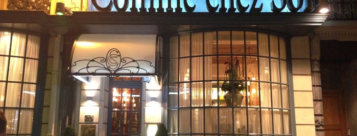 Comme Chez Soi is one of Restaurants.