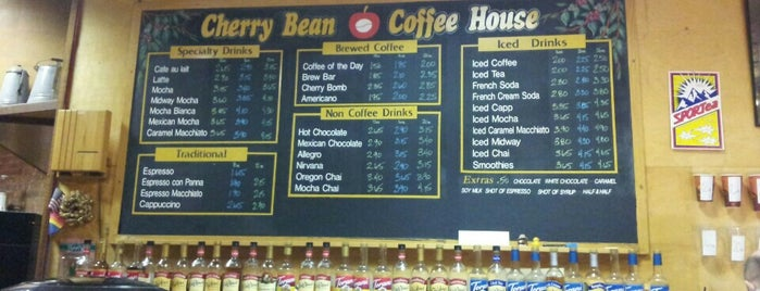 Cherry Bean Gourmet Coffeehouse & Roastery is one of Faves.