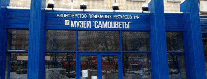 Музей Самоцветов is one of moscow museums.