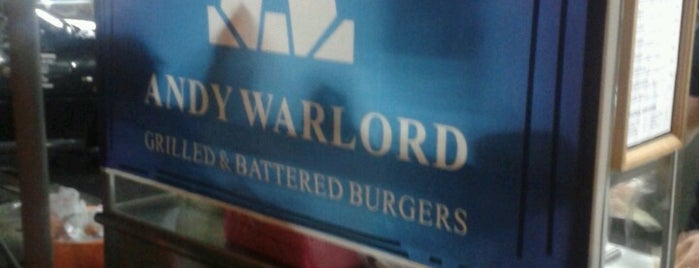 Andy Warlord Burgers is one of Burgers @ Penang.