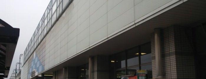Gamo Station is one of 東武伊勢崎線.