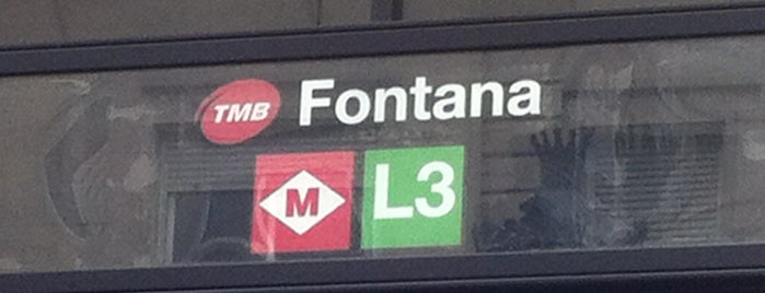 METRO Fontana is one of estaciones de metro.