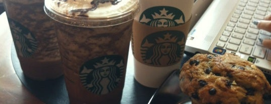 Starbucks is one of Shopping Mall..