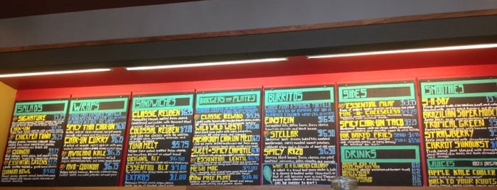Nature's Express is one of SF/EB Vegan Spots.