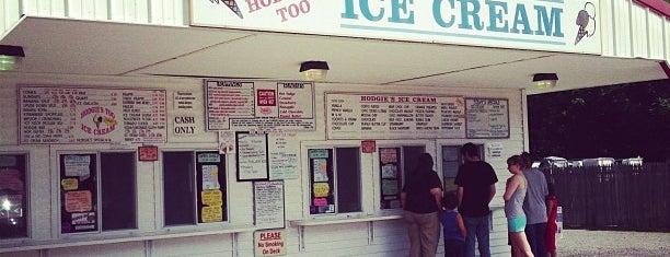 Hodgies Ice Cream Too is one of New England Best Ice Cream.