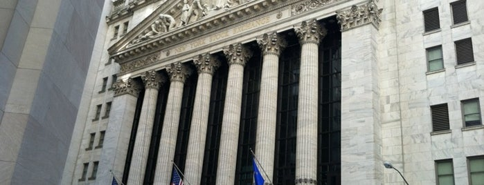 "New York Stock Exchange is one of ""Be Robin Hood #121212 Concert"" @ New York!."