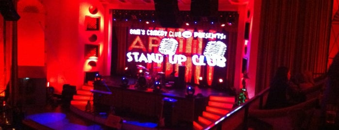 Apollo Live Club is one of Party hard.