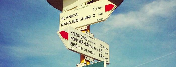Maková is one of Místa v Napajedlích.