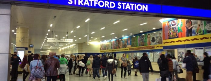 Stratford Railway Station (SRA) is one of My favorite places :).