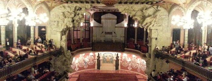 Palau de la Música Catalana is one of 36 hours in...Barcelona.