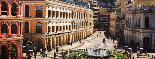 Senado Square is one of Places to go.