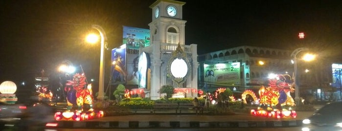 Surin Circle Clock Tower is one of Thailand TOP places.